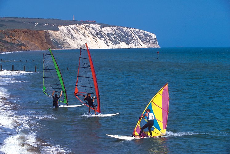 Picture of wind surfing